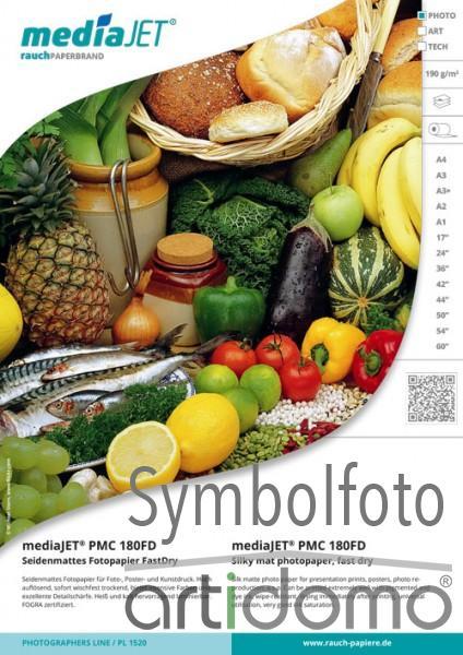 mediaJET PMC 180FD Seidenmattes Fotopapier FastDry