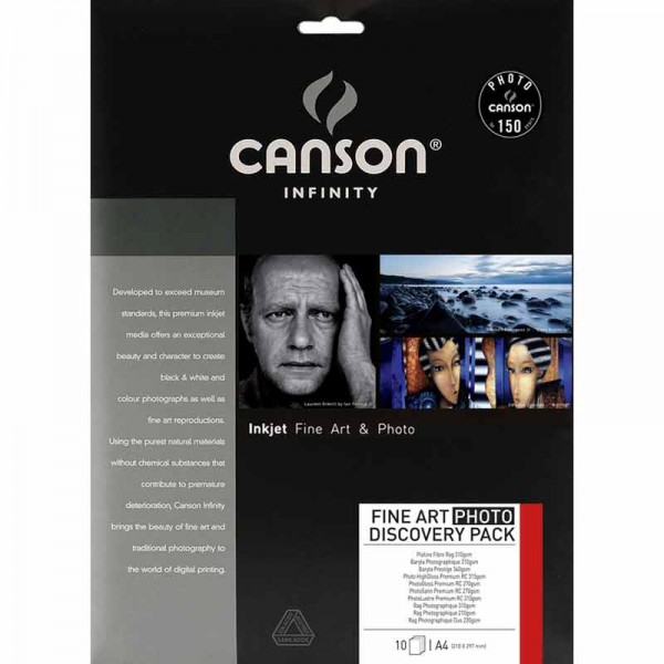 Canson Infinity Discovery Pack Fine Art Photo