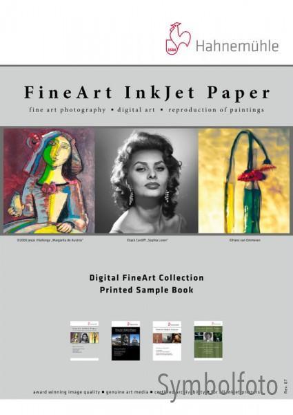 Hahnemühle Musterbuch DIN A6 bedruckt - Inkjet Digital FineArt Papier