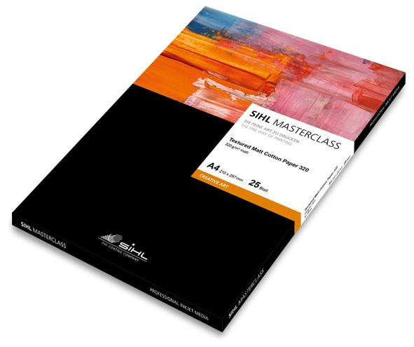 SIHL Textured Matt Cotton Paper 320