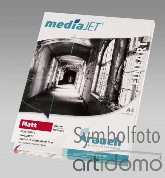 mediaJET PhotoArt White Matt Duo 230