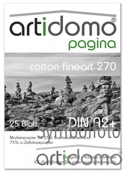 artidomo pagina - cotton fineart 270
