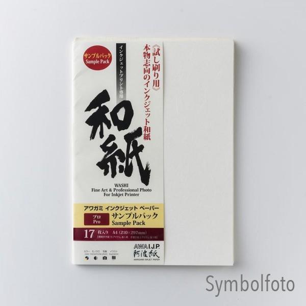 Awagami Testset PRO DIN A4 210x297mm 17 Blatt