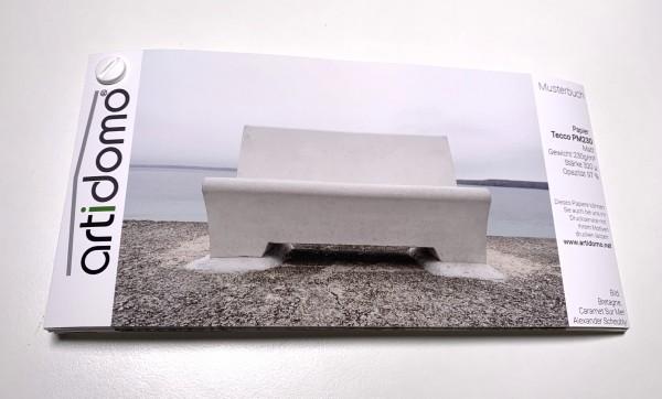 Musterbuch artidomo DL100 / 220x110mm