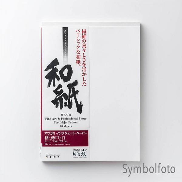 Awagami AIP Kozo Thin White 70