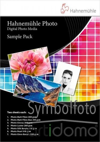Hahnemühle Photo Sample Pack DIN A4 10 Blatt - Digital Photo Media