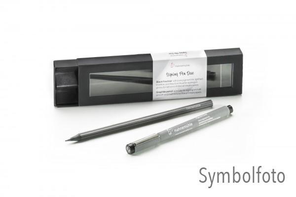 Hahnemühle Signier Pen Duo - Fineliner mit Pigmenttinte und Graphitstift
