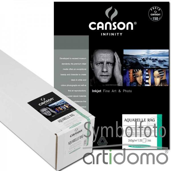 Canson Infinity Aquarelle Rag 240