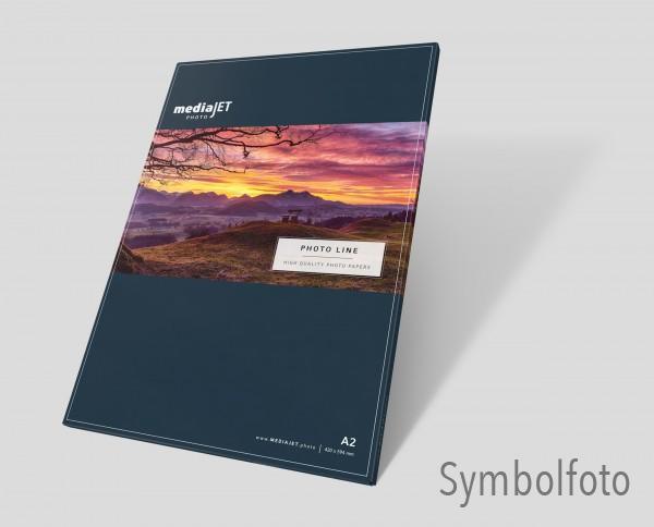 "mediaJET PMC 260FD ""premium"" Seidenmattes Fotopapier FastDry"