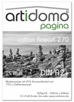 artidomo pagina - cotton fineart 270