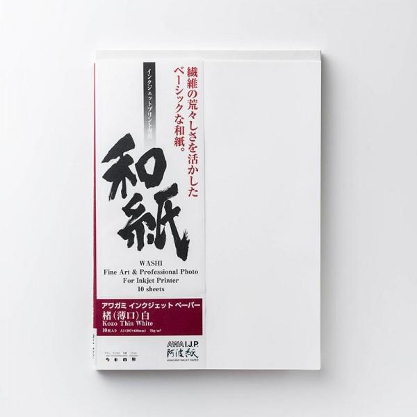 Awagami AIP Kozo Thin White 70