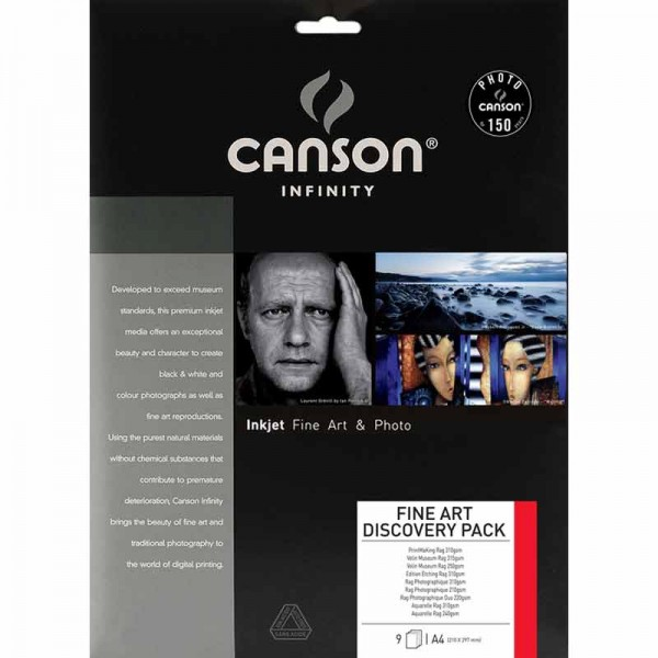 Canson Infinity Discovery Pack Fine Art